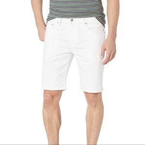 NEW Levi's 511 Slim Stretch Hem Short White